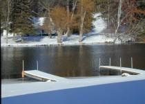 Boat Dock Winter