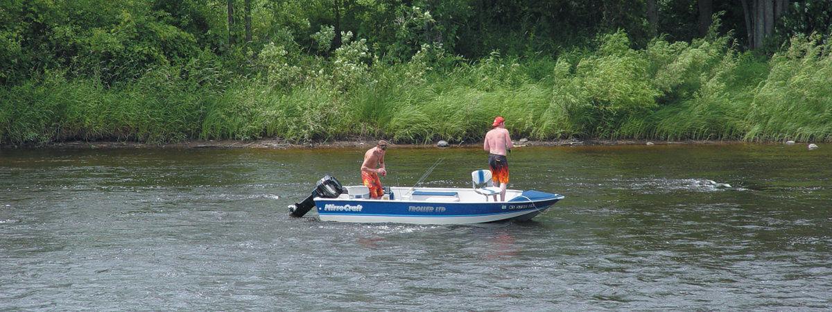 Fishing Peshtigo River