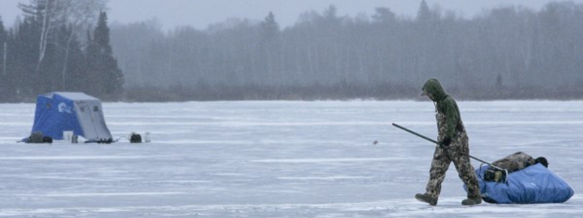 Ice Fishing Crivitz Wisconsin
