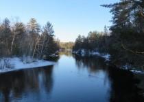 Peshtigo River Winter