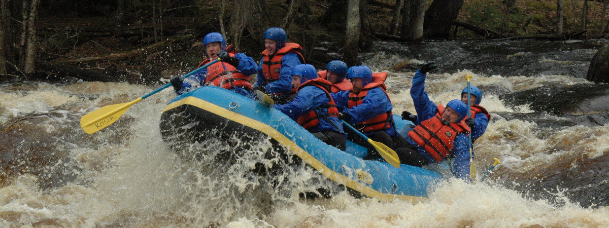 Whitewater Rafting Peshtigo River